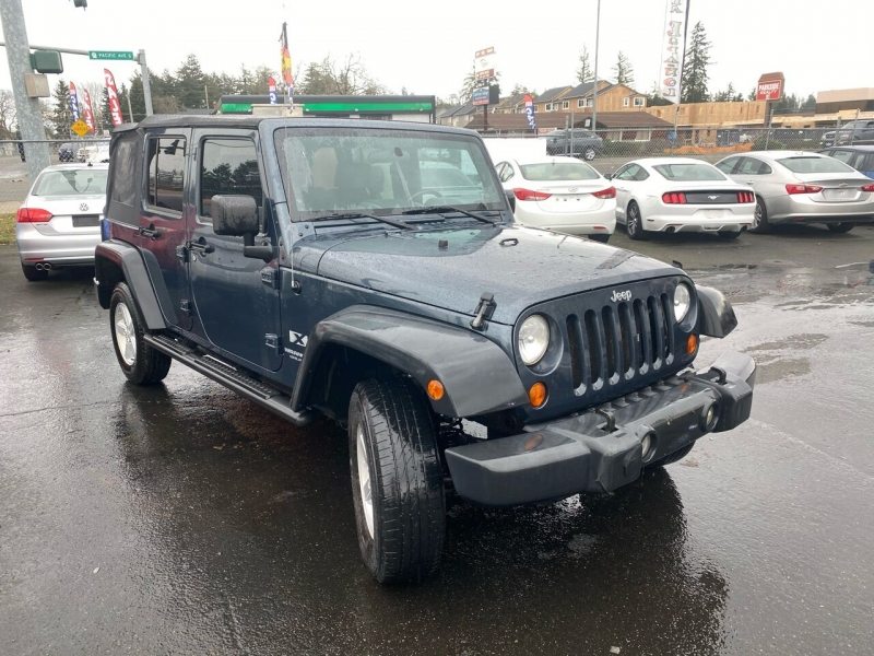 Jeep Wrangler Unlimited 2007 price $11,990