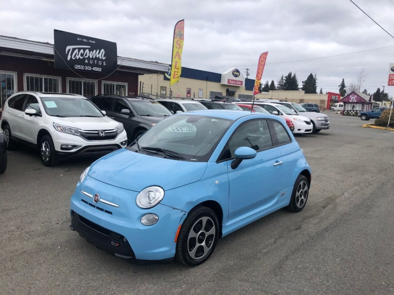 FIAT 500e 2015 price $6,490