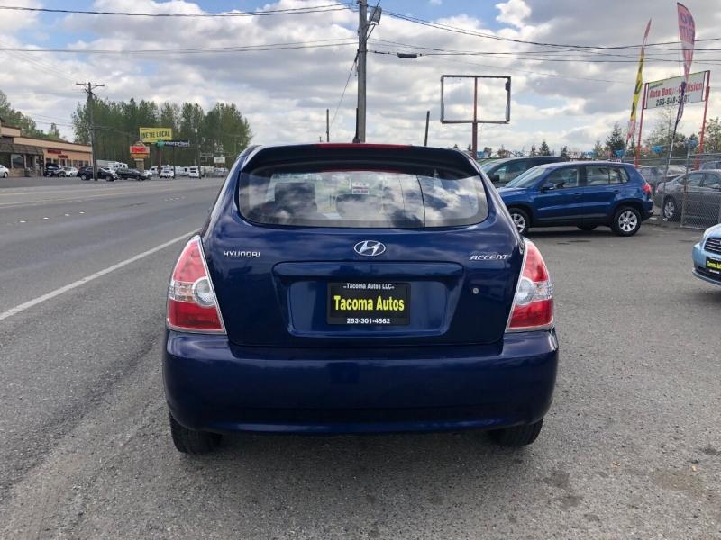 Hyundai Accent 2007 price $2,990
