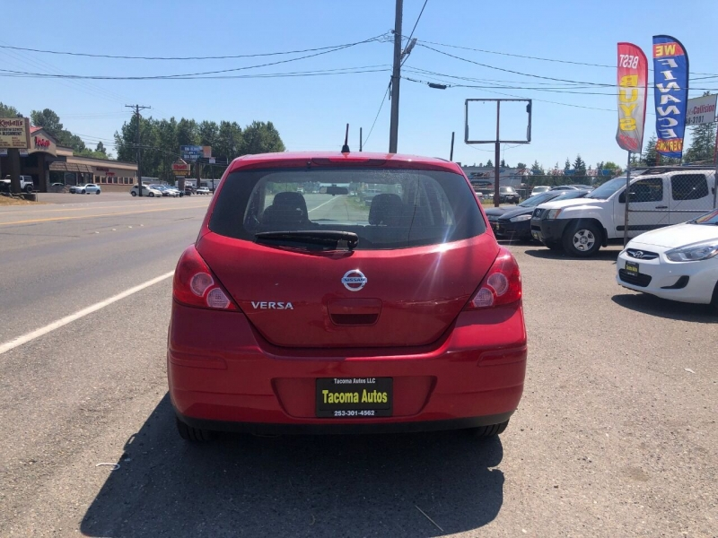 Nissan Versa 2008 price $4,490
