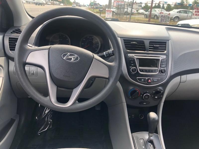 Hyundai Accent 2017 price $11,990