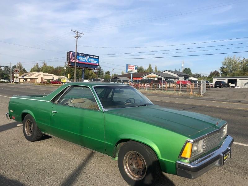 Chevrolet El Camino 1981 price $5,990