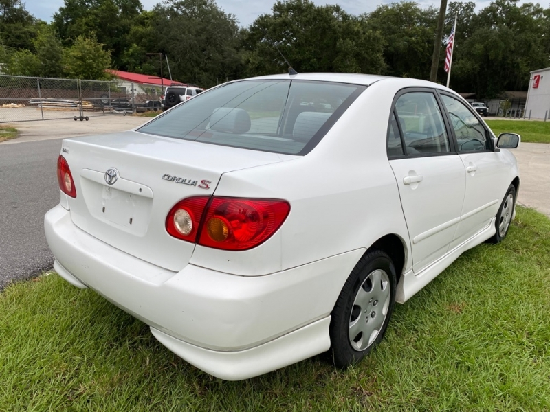 TOYOTA COROLLA S 2004 price $4,900