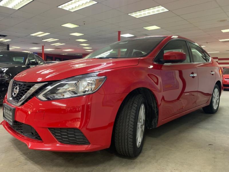 Nissan Sentra SV 2018 price $12,500
