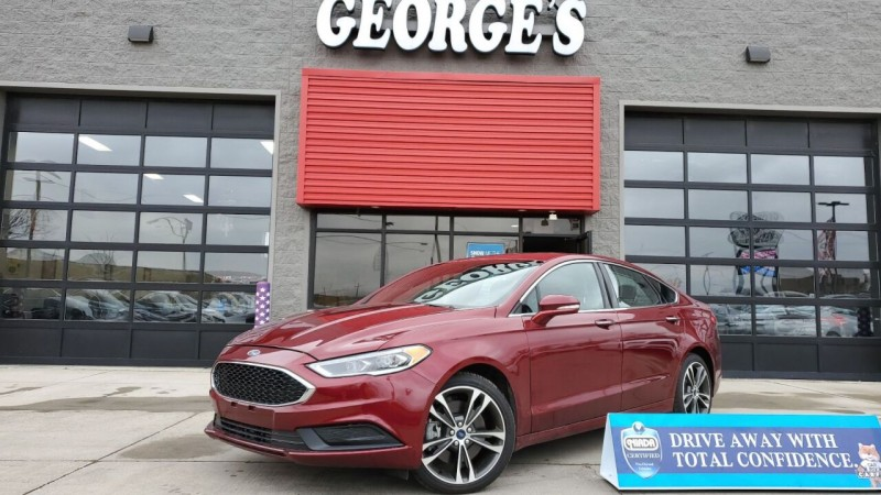 Ford Fusion 2017 price $22,991