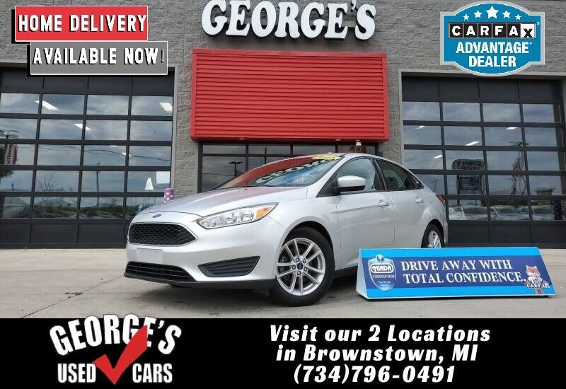 Ford Focus 2018 price $13,991