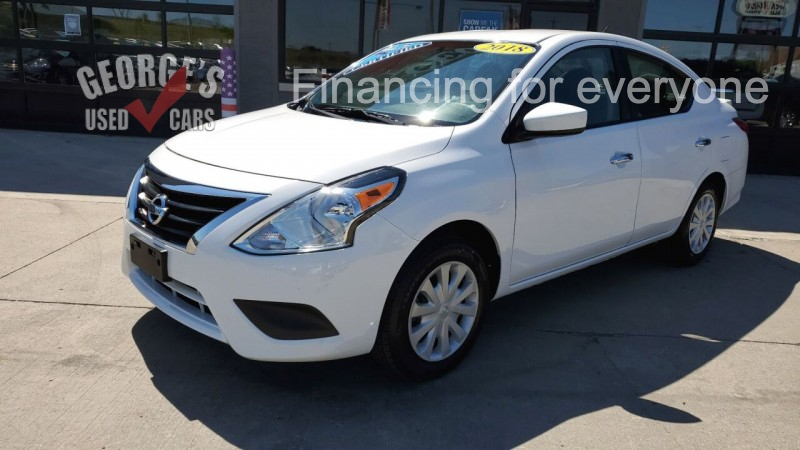 Nissan Versa 2018 price Call for Pricing.