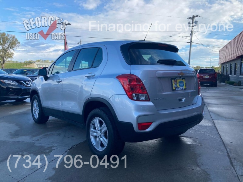 Chevrolet Trax 2018 price Call for Pricing.