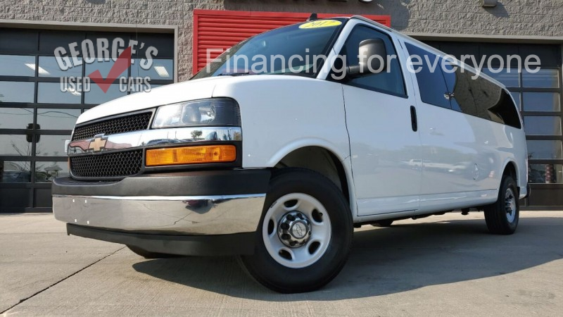 Chevrolet Express Passenger 2017 price $20,991