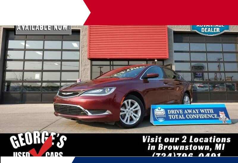 Chrysler 200 2015 price $8,991