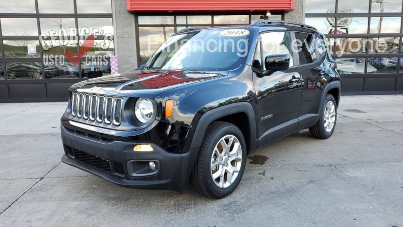 Jeep Renegade 2018 price $17,991