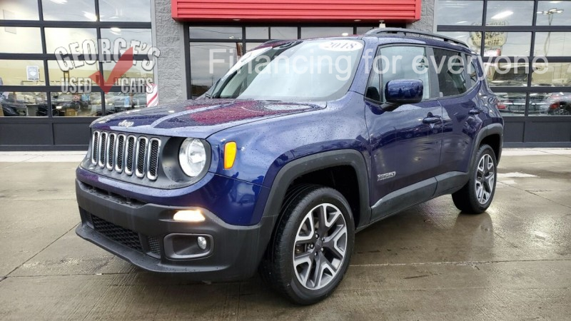 Jeep Renegade 2018 price $16,991