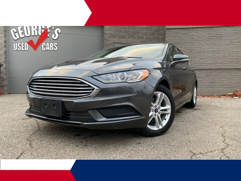 Ford Fusion 2018 price $19,991