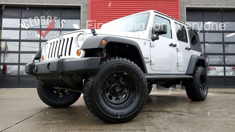 Jeep Wrangler Unlimited 2012 price $19,831