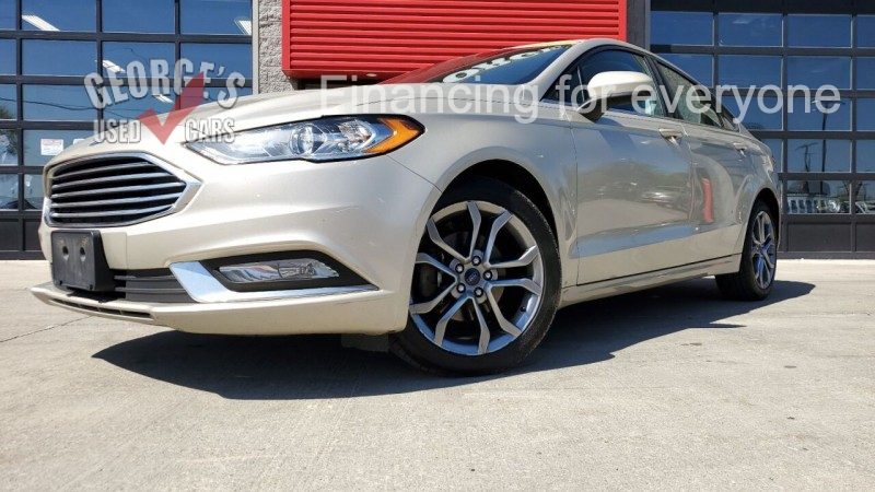 Ford Fusion 2017 price $12,991