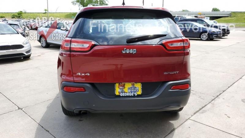 Jeep Cherokee 2016 price $16,991