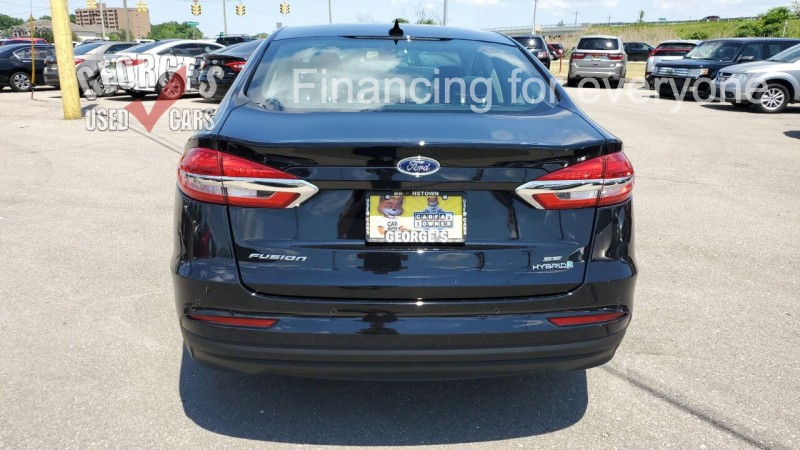 Ford Fusion Hybrid 2019 price $21,991