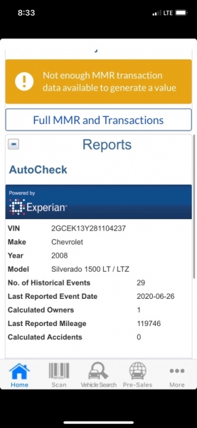 CHEVROLET SILVERADO 1500 2008 price $12,300