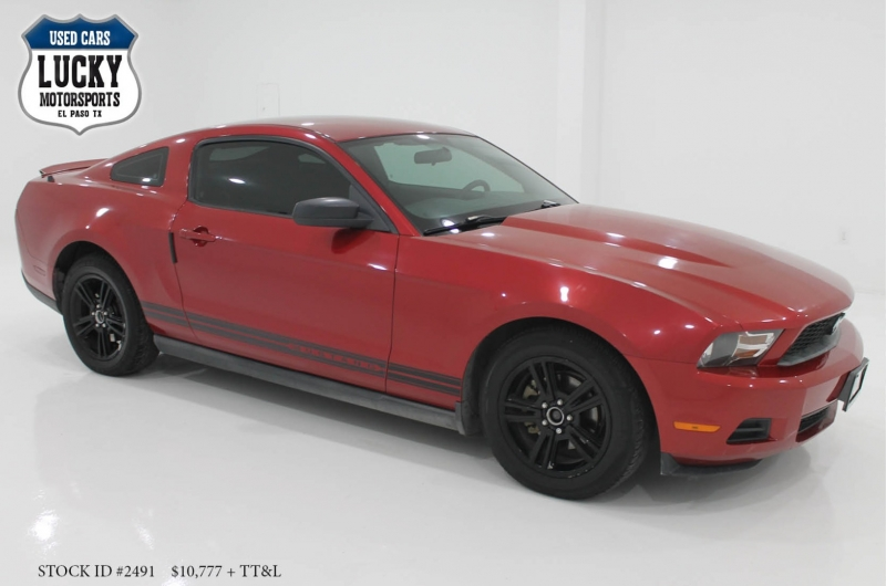 FORD MUSTANG 2010 price $10,777