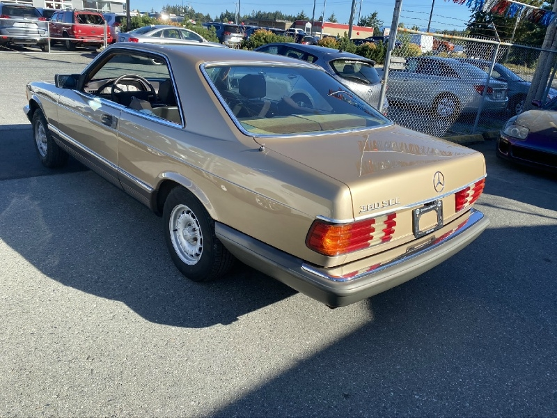 Mercedes-Benz 380 SEC 1983 price $4,995