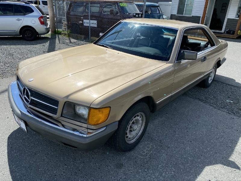 Mercedes-Benz 380 SEC 1983 price $9,995