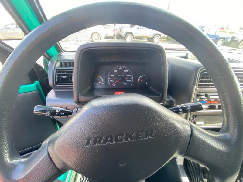 Geo Tracker 1995 price $4,495