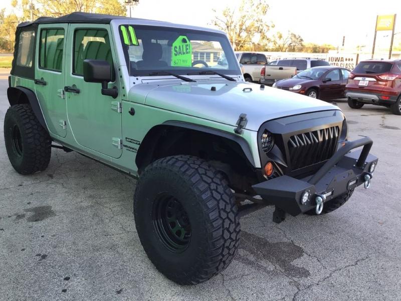 JEEP WRANGLER UNLIMI 2011 price $27,995