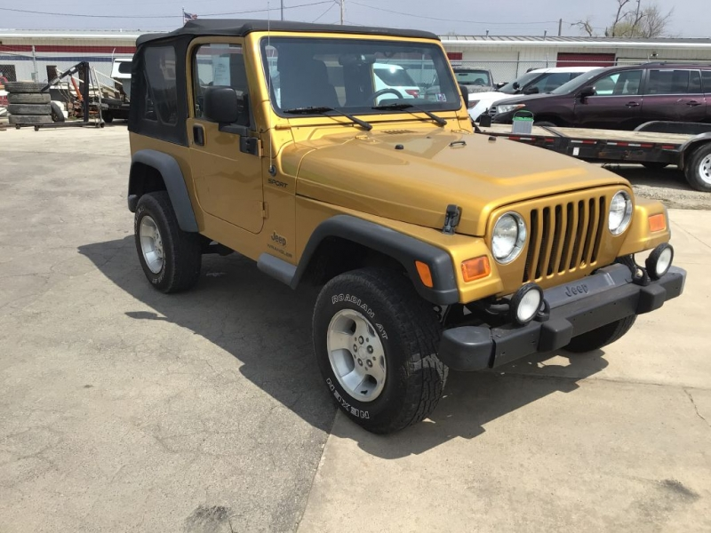 JEEP WRANGLER / TJ 2003 price $14,995