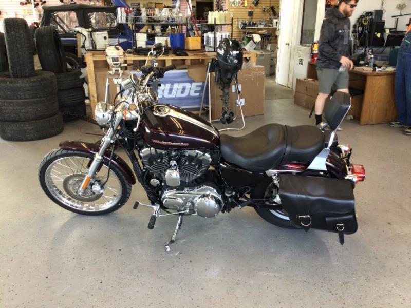 HARLEY DAVIDSON XL 1200 C 2007 price $4,995