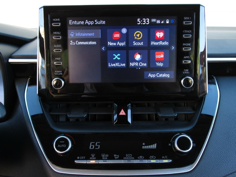 Toyota Corolla LE Scout GPS,Apple Android Car-Play 2020 price $17,995