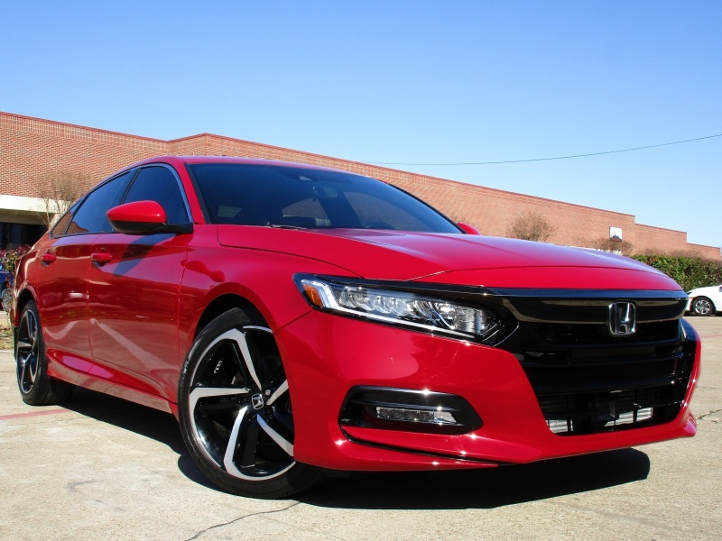 Honda Accord Sport,Apple,Android Car-Play 2019 price $22,500