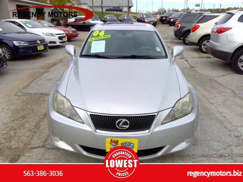 LEXUS IS 2006 price $8,999