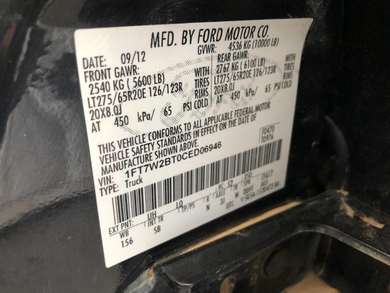 Ford Super Duty F-250 2012 price $31,888