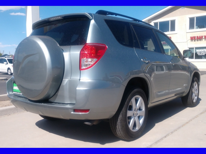 TOYOTA RAV4 LIMITED 2007 price CALL FOR PRICE