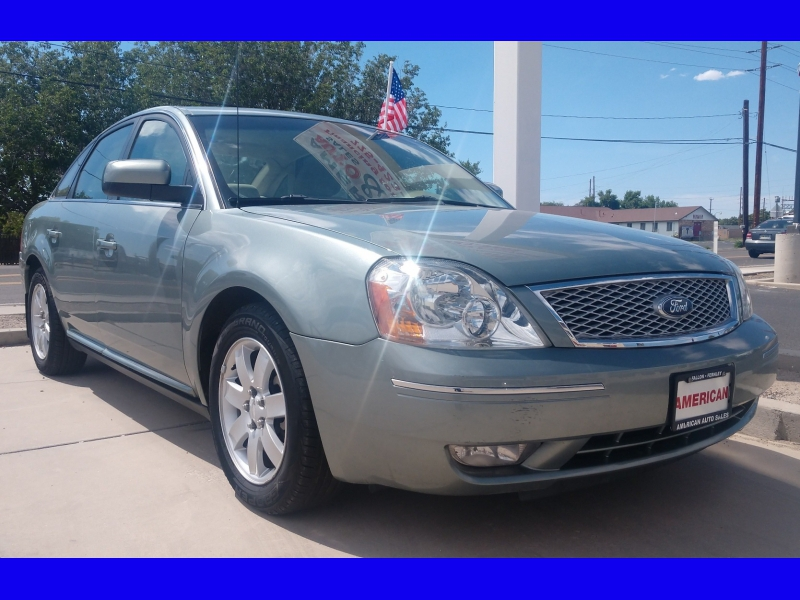 FORD FIVE HUNDRED SEL 2007 price CALL FOR PRICE