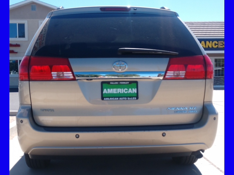 TOYOTA SIENNA XLE LIMITED; 2004 price CALL FOR PRICE