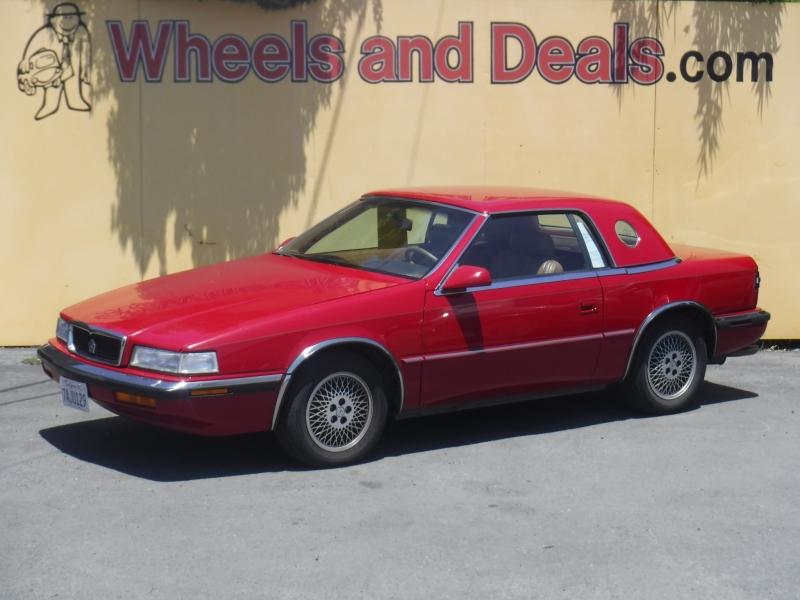 Maserati Chrysler 1989 price $7,500