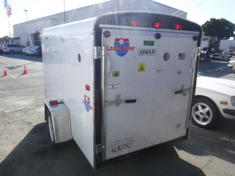 Interstate Enclosed trailer 2010 price $3,650