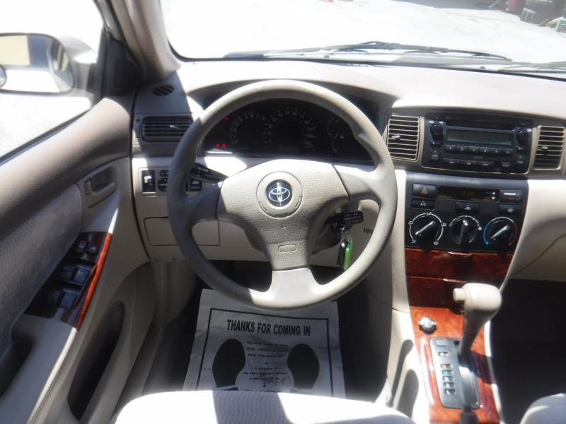 Toyota Corolla 2005 price $4,500