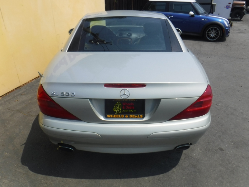 Mercedes-Benz SL500 2003 price $7,250