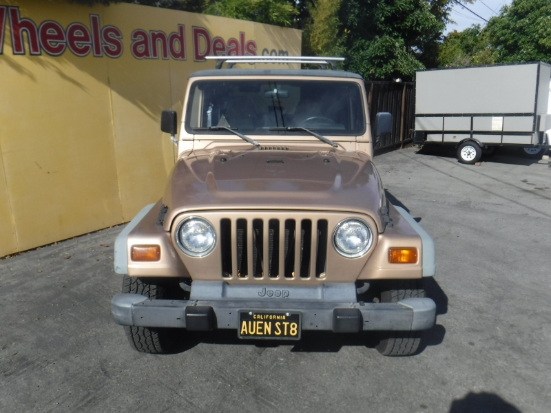 Jeep Wrangler 1999 price $9,599