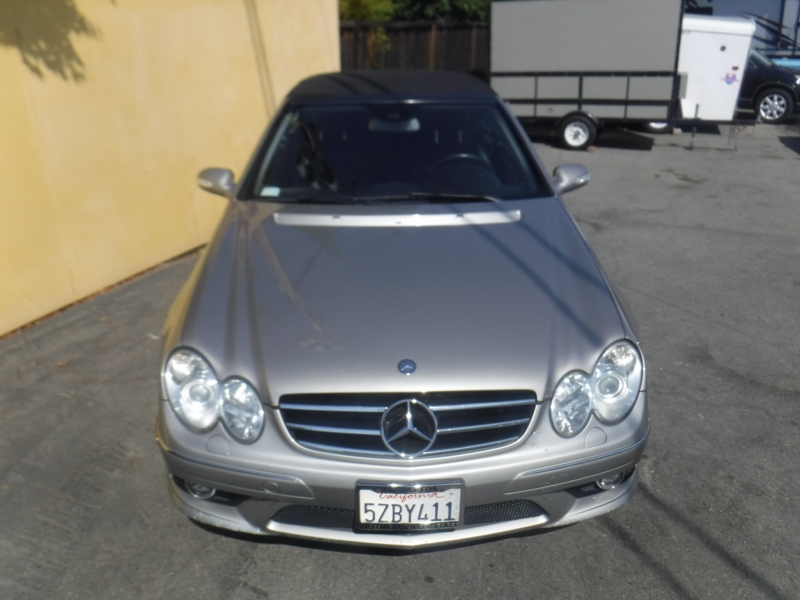 Mercedes-Benz Clk550 2007 price $6,999