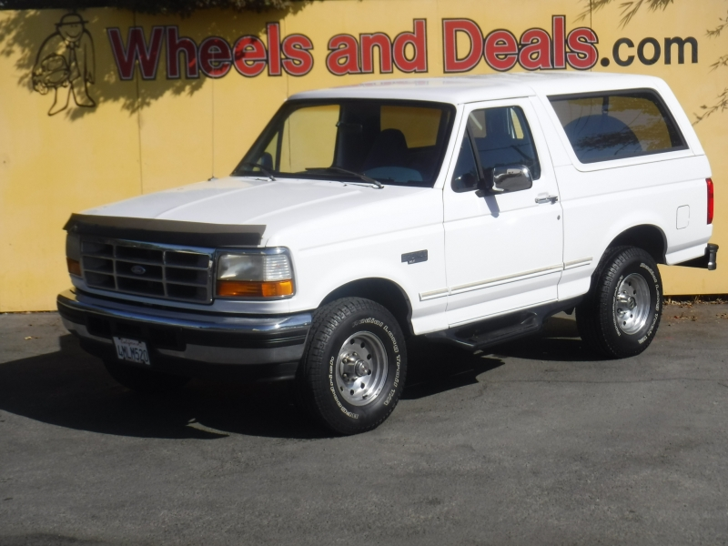 Ford Bronco 1994 price $21,500