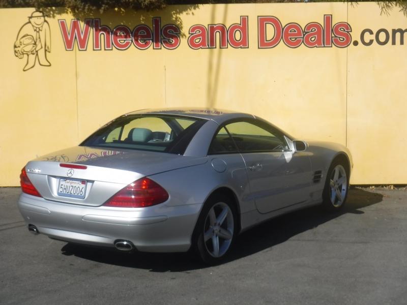 Mercedes-Benz SL500 2004 price $12,500