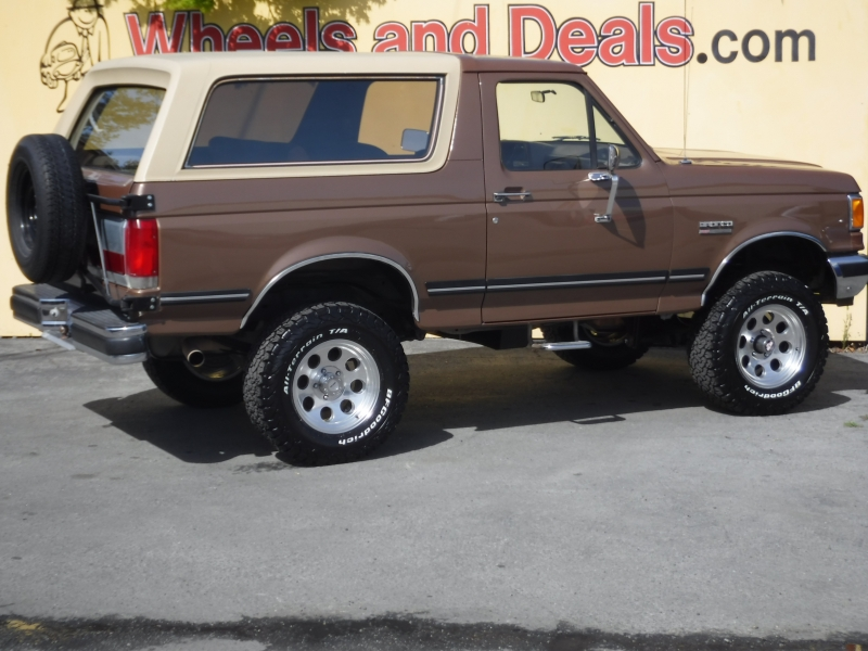 Ford Bronco 1988 price $18,500