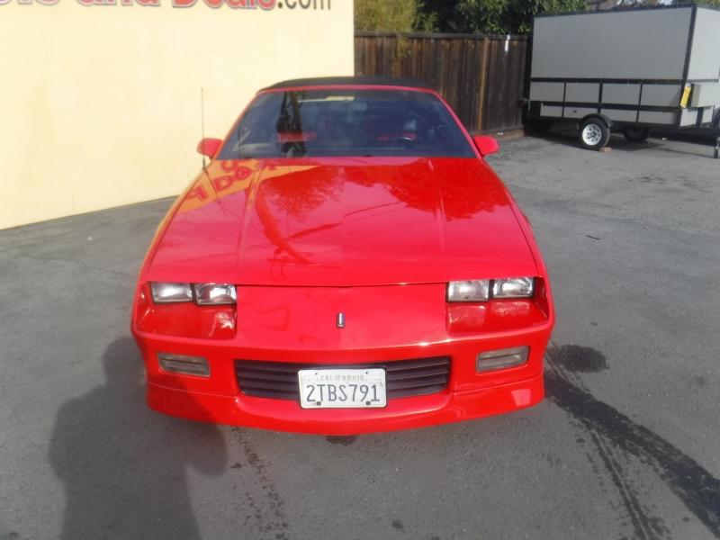 Chevrolet Camaro 1989 price $22,999