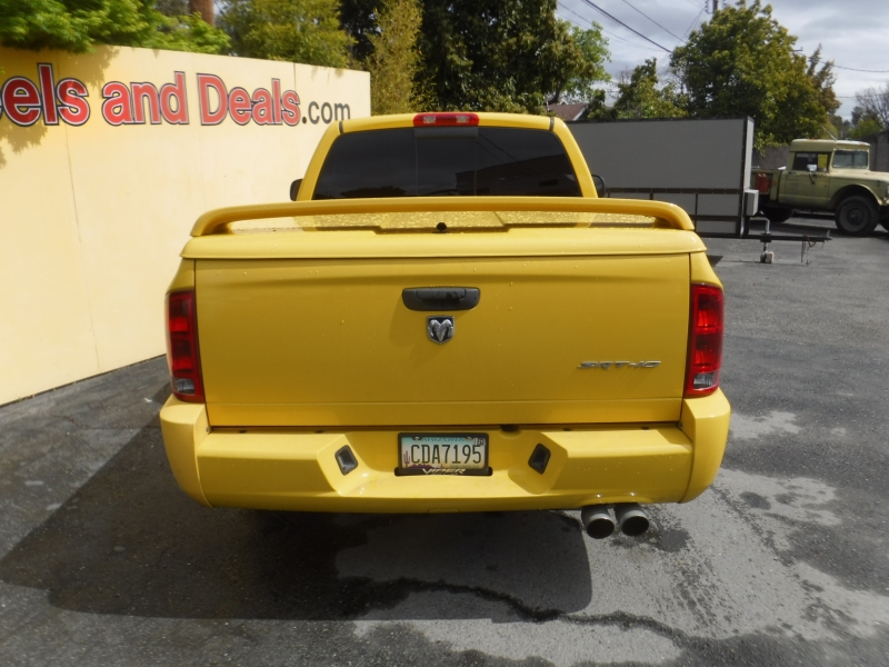 Dodge Srt-10 2005 price $22,000