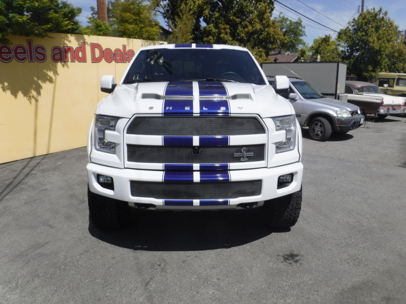 Ford F-150 Shelby 2016 price $83,750