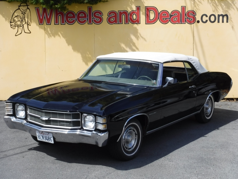 Chevrolet malibu 1971 price $29,999