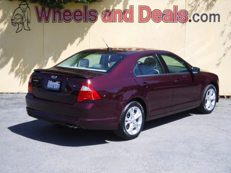 Ford Fusion 2012 price $10,500